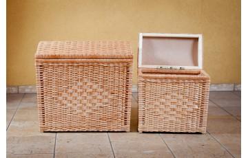 Кошик-Скриня для бiлизни плетений з лози
