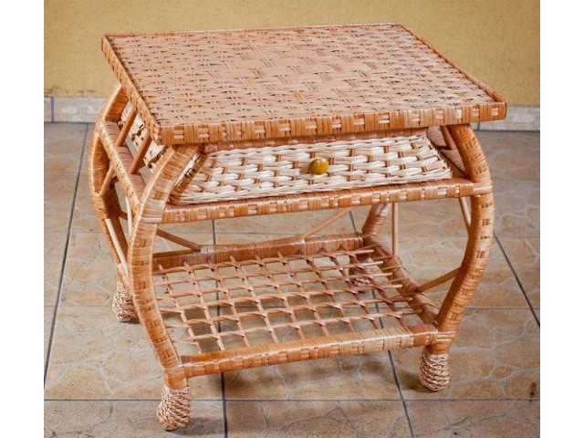 Стіл плетений з лози Немо