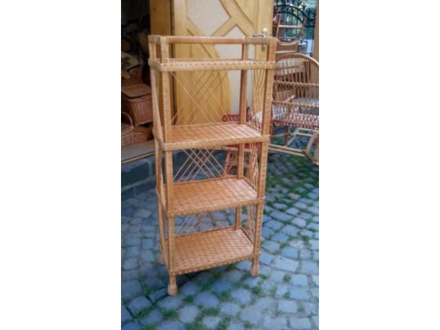 Стелаж плетений із лози (в асортименті)
