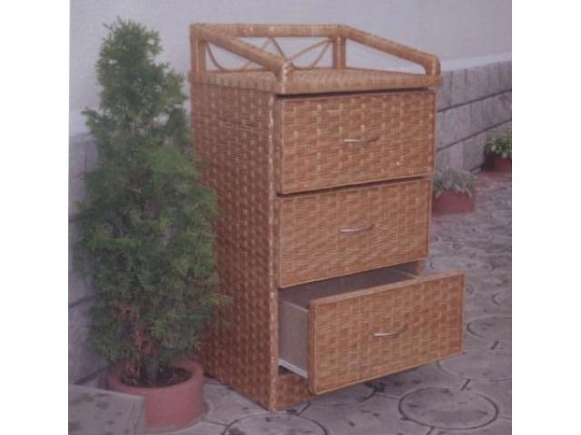 Комод плетений з лози 3-ка Меблевий