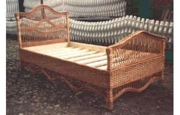 Ліжко плетене з лози Комфорт
