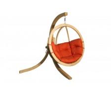 Крісло підвісне на дерев'яній підставці O-Zone