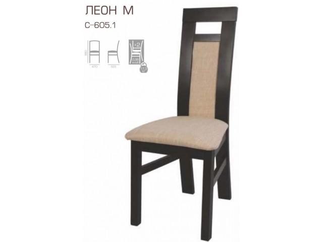Стілець дерев'яний Леон-М
