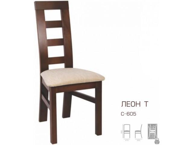 Стілець дерев'яний Леон-Т
