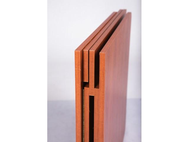 Стіл Книжка трансформер обідній розкладний Лайт 70*8*75 - 140*70*75 см (+ВІДЕО)