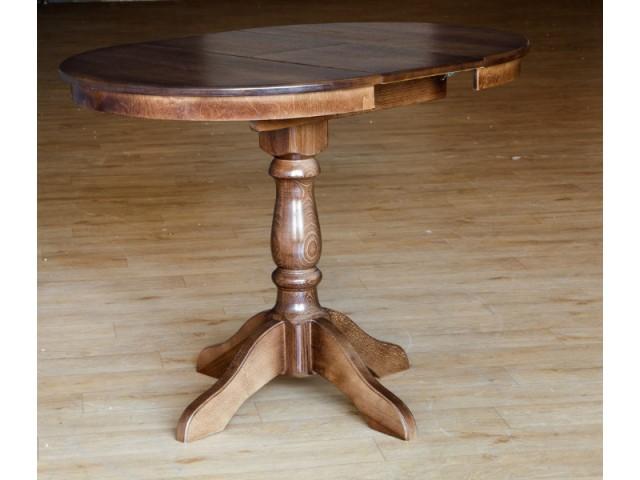 Стіл обідній (не) розкладний дерев'яний Чумак