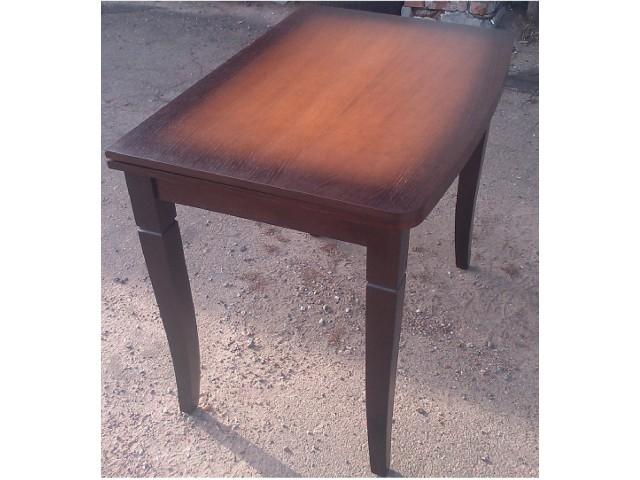 Стіл обідній дерев'яний розкладний «Еріка» (шпон дуба) 60(+60)*90