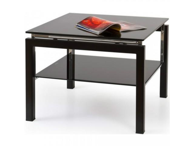 Журнальний столик скляний Halmar BETTY