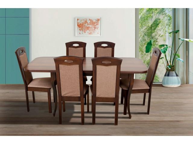 Стіл обідній дерев'яний розкладний «Мартін» 130 (+40)*78см