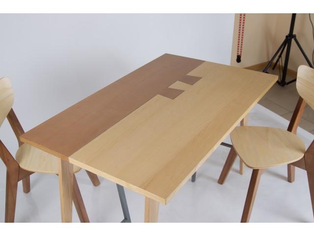 Стіл кухонний дерев'яний Дублін 120x75см (натуральний)