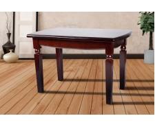 Стіл обідній розкладний дерев'яний Кайман 120(+40)*70 см (масив дуба)