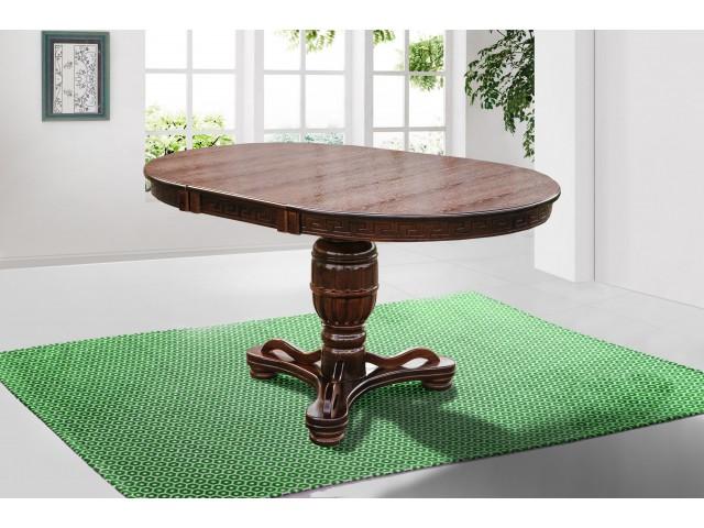 Стіл обідній розкладний дерев'яний Версаль 100 (+40)*100 см
