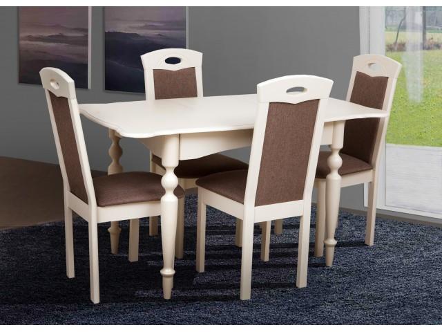 Стіл обідній дерев'яний розкладний «Омега» 103(+34)*74