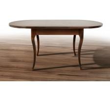 Стіл обідній дерев'яний розсувний «Твіст» 126(+34)*81
