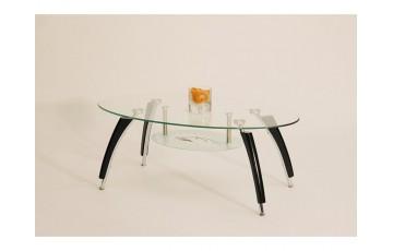 Журнальний столик скляний Halmar Ada