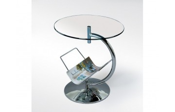 Журнальний столик скляний Halmar Alma