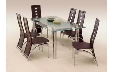 Стол стеклянный кухонный Halmar BOND