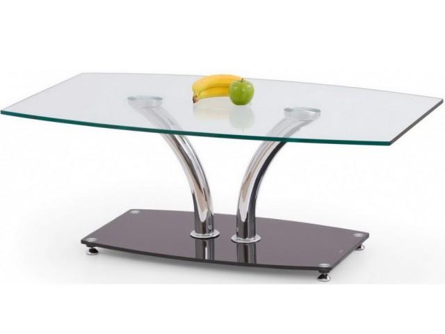 Журнальний скляний столик Halmar Paula