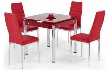 Стол стеклянный кухонный Halmar KENT (в ассортименте)