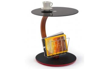 Журнальный столик стеклянный Halmar Wendy