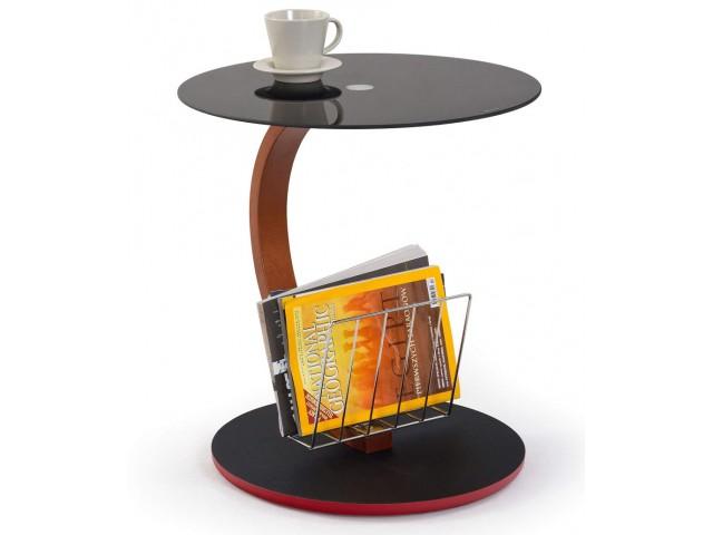 Журнальний столик скляний Halmar Wendy